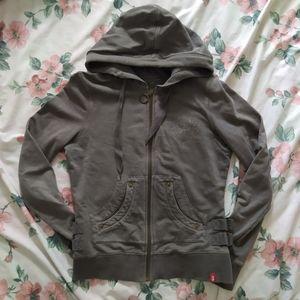 Esprit Zip Up Hoodie Sweater Hooded Sweatshirt